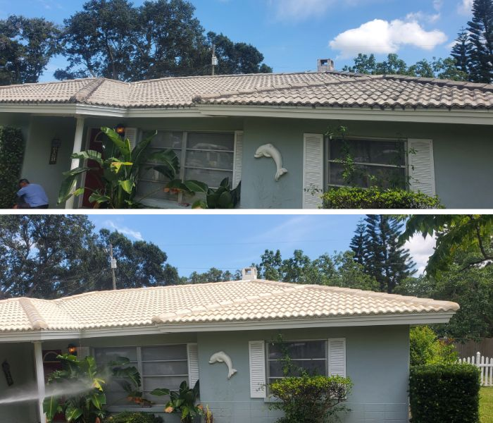 benefits of pressure washing services for a clearwater home